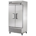 True TS-35F Freezer - Two Door - All Stainless Steel - Bottom Mount