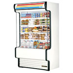 "True TAC-48GS - 48"" Vertical Refrigerated Display Case - Air Curtain"