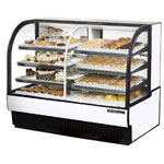"True TCGDZ-59 - 59"" Combo Curved Glass Display Case"
