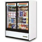 True GDM-41SL-60-LD - Two Sliding Glass Door Cooler Merchandiser
