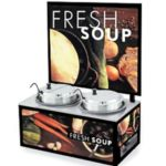 Vollrath 72031 - Soup Merchandiser - Twin Re-thermalizing Warmer