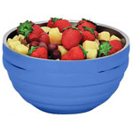 "Vollrath 46569 - 13.75"" Round Beehive Bowl - Double Wall - 10.1 Quart"