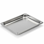"Vollrath 30212 - Half Size x 1-1/4"" Deep - Super Food Pan V (5)"