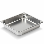 "Vollrath 30222 - Half (1/2) Size x 2-1/2"" Deep - Super Food Pan V (5)"
