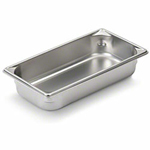 "Vollrath 30322 - Third Size x 2-1/2"" Deep - Super Food Pan V (5)"