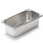 "Vollrath 30342 - Third Size x 4"" Deep - Super Food Pan V (5)"