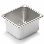 "Vollrath 30642 - Sixth Size x 4"" Deep - Super Food Pan V (5)"