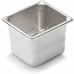 "Vollrath 30662 - Sixth Size x 6"" Deep - Super Food Pan V (5)"