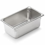 "Vollrath 30942 - Ninth Size x 4"" Deep - Super Food Pan V (5)"