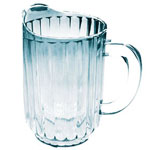 Winco WPC-60 - 60 Oz. Clear Plastic Pitchers