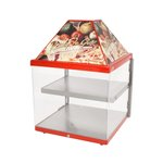 "Wisco 680-1 - Pizza Display Warming Cabinet - Up to Two 16"" Pizzas"