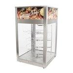 Wisco 695C-TD - Pizza Hot Food Display Cabinet