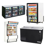 Back Bar Beverage Coolers