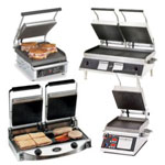 Commercial Panini Sandwich Grill Press