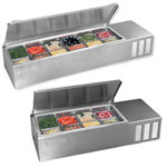 Countertop Refrigerated Prep Tables