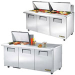 Three Door Mega Top Sandwich Prep Table