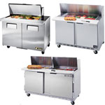 Two Door Mega Top Sandwich Prep Table